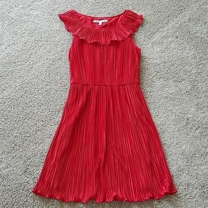 Cynthia Steffe pleated red dress